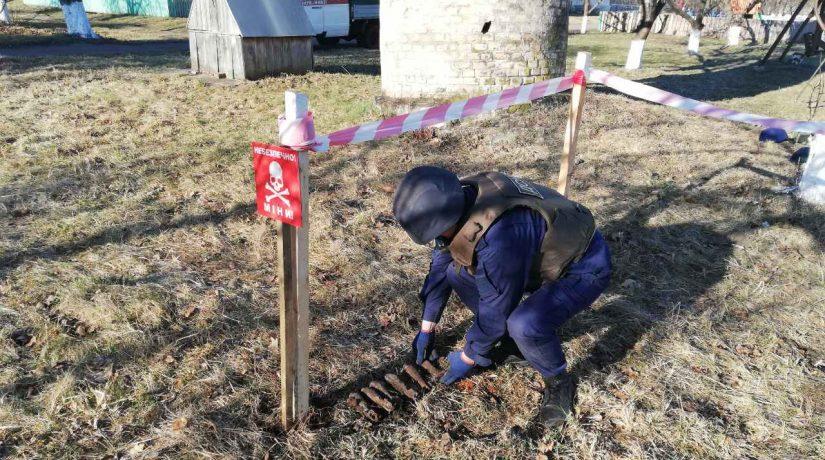 В детском саду на Киевщине нашли шесть минометных мин