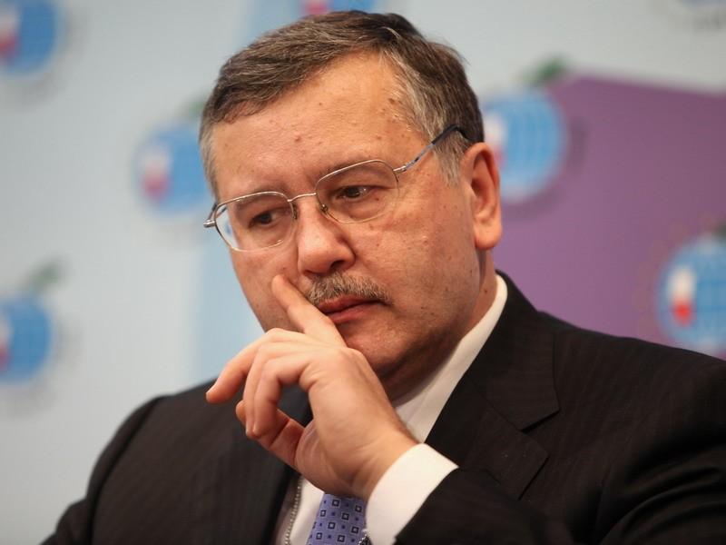 """Гриценко назвал дебаты на стадионе """"соревнованием по плевкам на дальност..."""