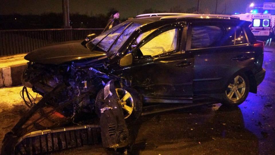 В Харькове масштабное ДТП: Столкнулись 7 автомобилей