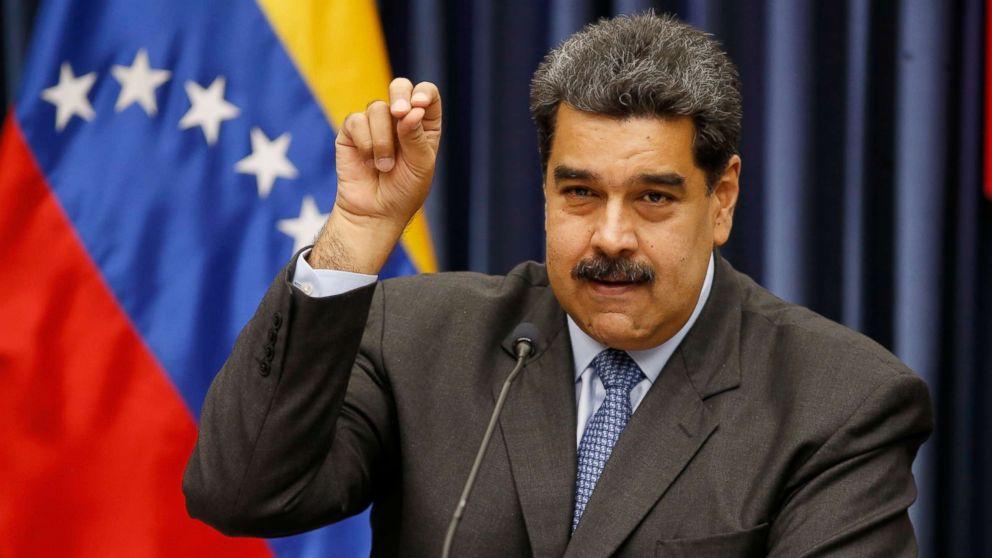 Мадуро заявил, что попытка государственного переворота в Венесуэле не уд...