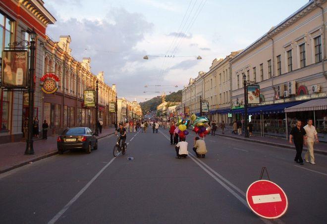 В Украине могут поделить улицы, как в странах Евросоюза