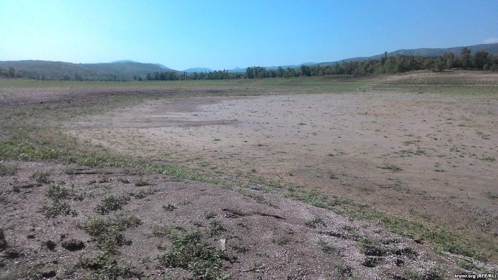 Русло одной из крупнейших рек Крыма полностью высохло