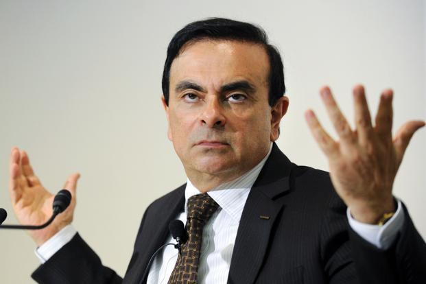 Гон подал в отставку с поста президента автоконцерна Renault