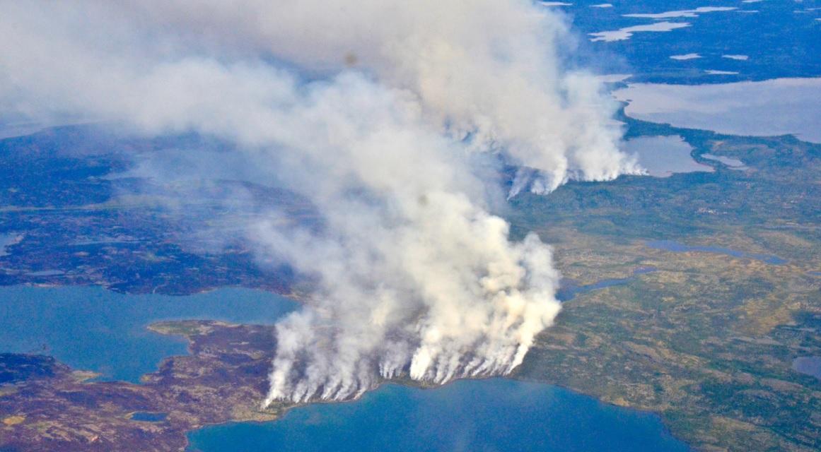 """""""Зомби-пожары"""" в Арктике. Ученые зафиксировали рекордный выброс 244 мега..."""