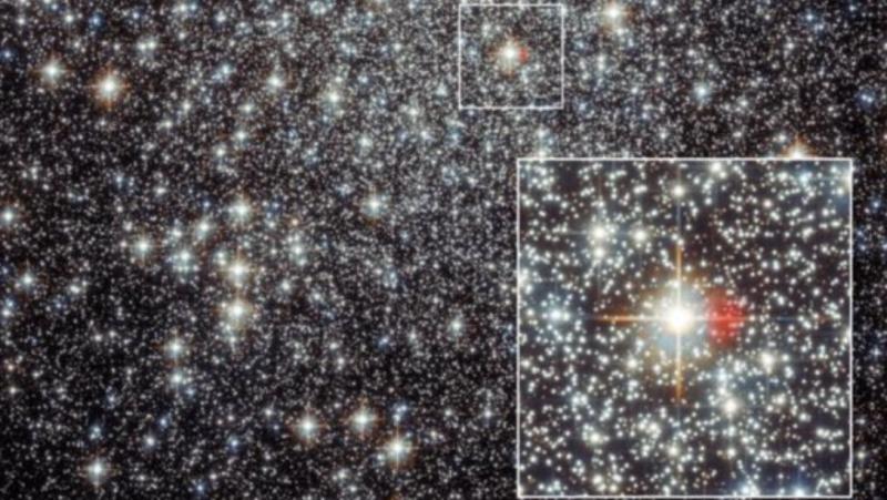 Астрономы увидели остатки новой, рождение которой 2000 лет назад наблюда...