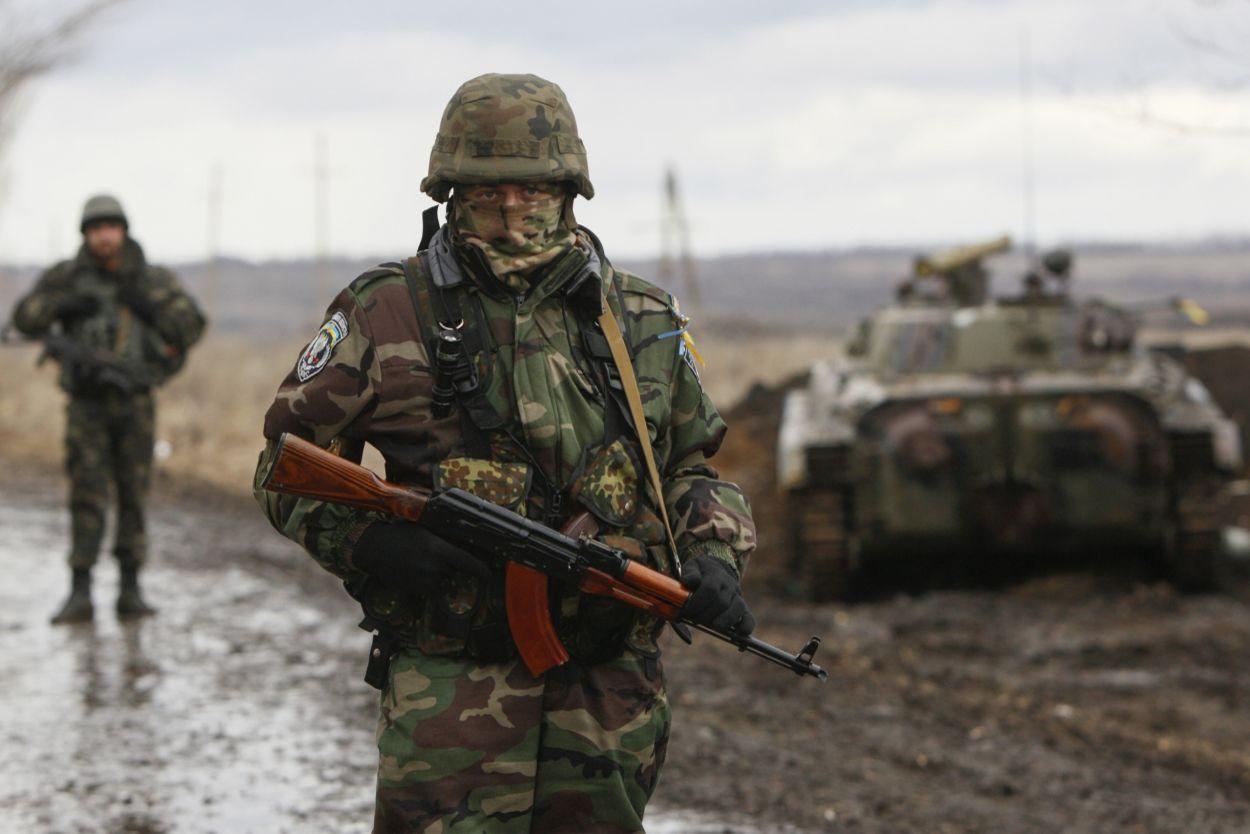 На Донбассе боевики обстреляли один из участков разведения сил