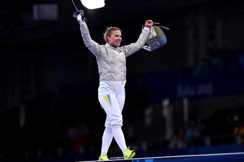 Украинская саблистка Харлан взяла золото на этапе Кубка мира в США