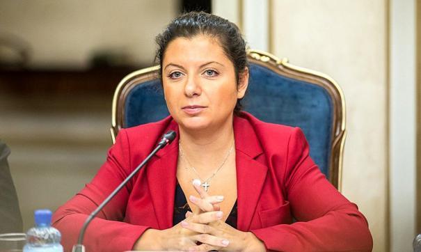 """Пропагандистка Симоньян призвала """"вежливых людей"""" навести порядок в Бела..."""
