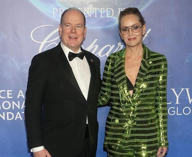 Шерон Стоун присоединилась к князю Монако в деле защиты океанов