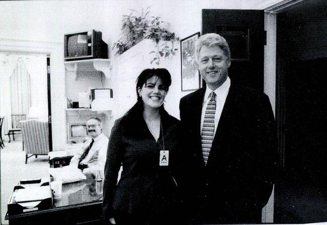 Билл Клинтон отказался извиняться перед Моникой Левински