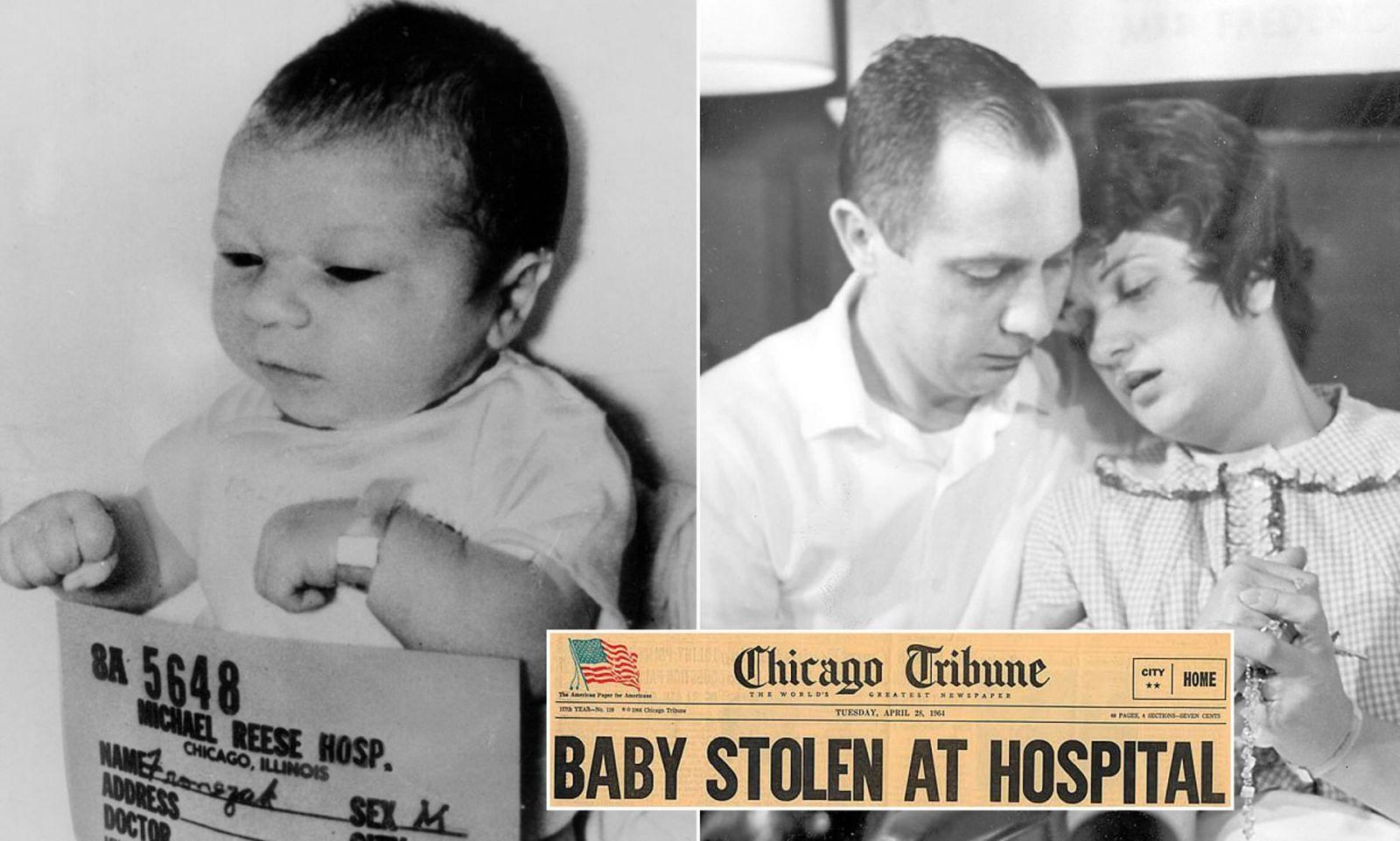 Новорожденного, похищенного из чикагской больницы в 1964 году, случайно...