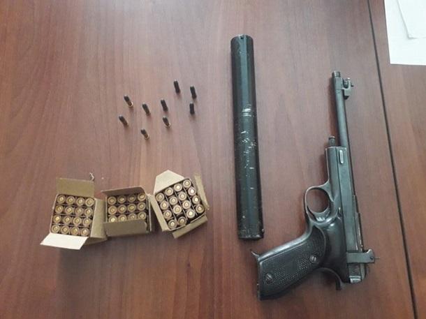 СБУ задержала в Полтаве торговца оружием