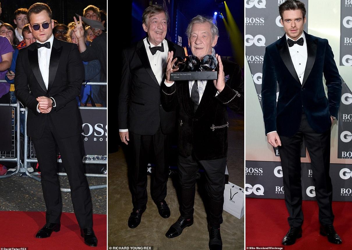 Вечеринка от GQ: в Лондоне вручили престижную премию