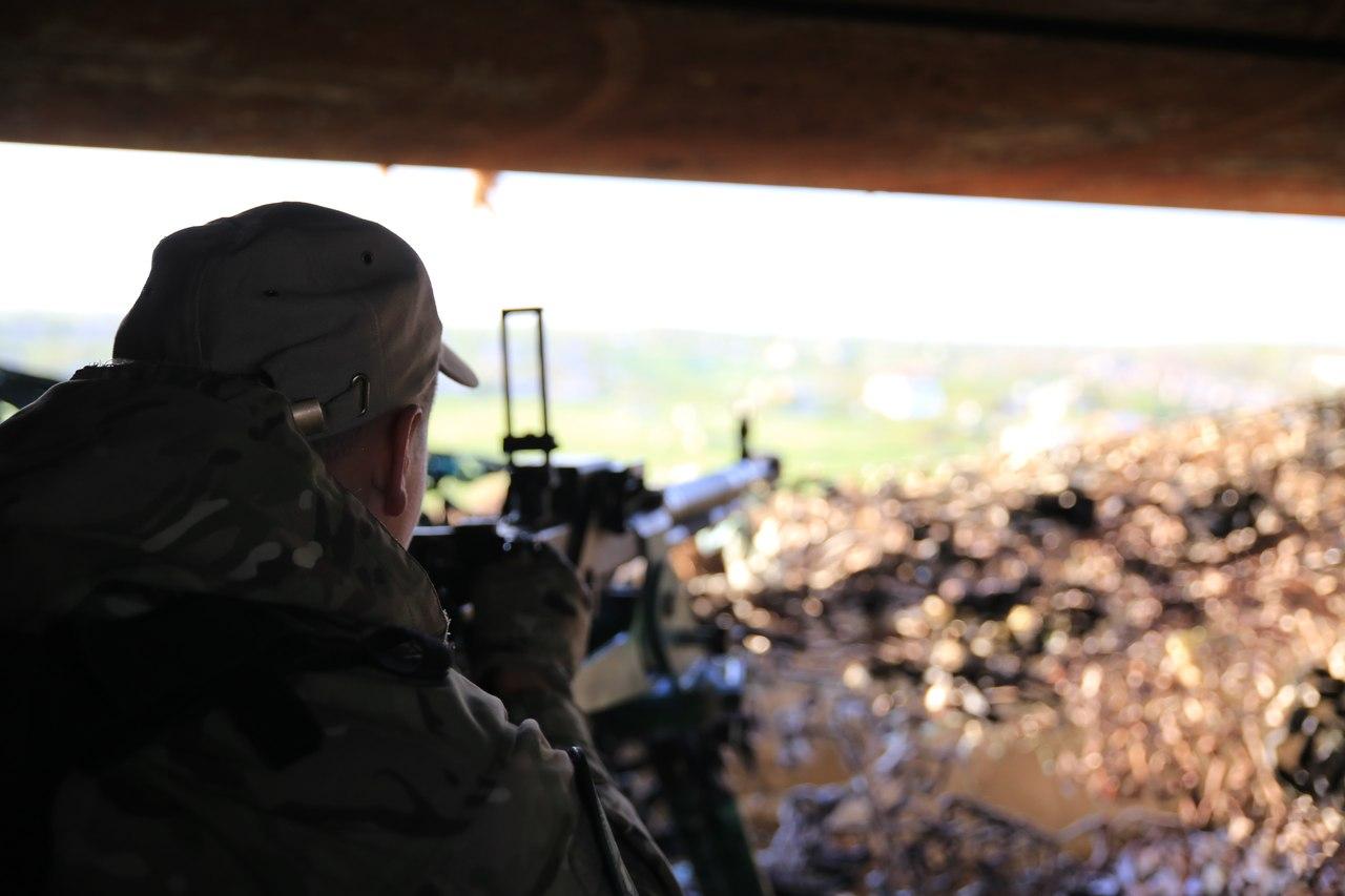 АТО: За минувшие сутки потерь в рядах украинских войск нет