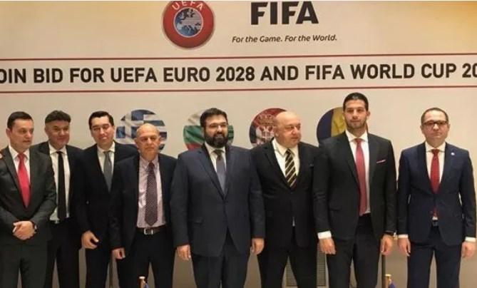 Сразу четыре страны хотят совместно провести ЧЕ-2028 и ЧМ-2030 по футбол...