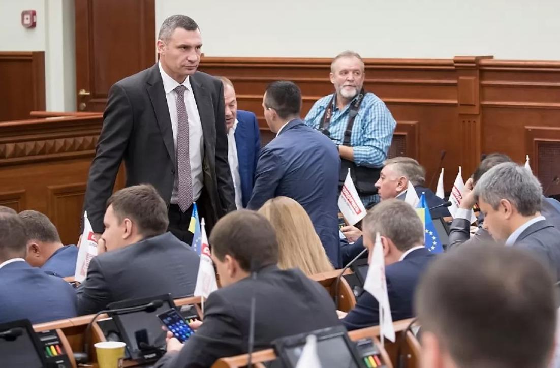 Кличко просит Раду распустить Киевсовет