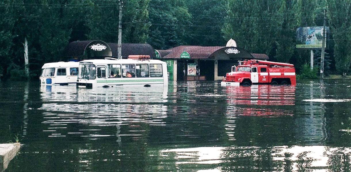 Черкасчину затопило – за три часа вылилась почти месячная норма дождя