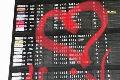 Бельгийские аэропорты исправили Kiev на Kyiv