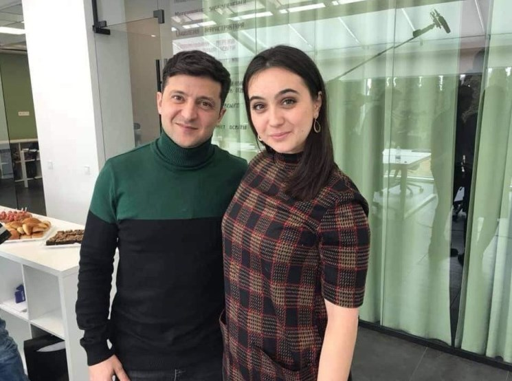 Зеленский назначил Мендель своим пресс-секретарем
