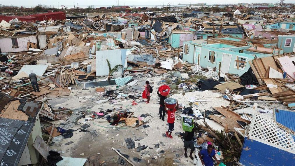 """Багамы подсчитывают ущерб от урагана """"Дориан"""": некоторые острова не приг..."""