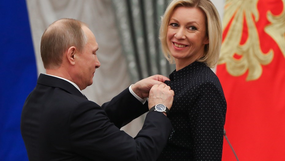 Спикер МИД РФ Захарова прокомментировала заявление Зеленского по РФ и G8
