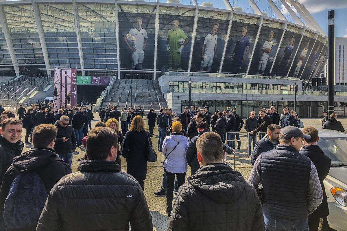 """Дебаты на """"Олимпийском"""": как выглядит центр Киева в преддверии встречи П..."""