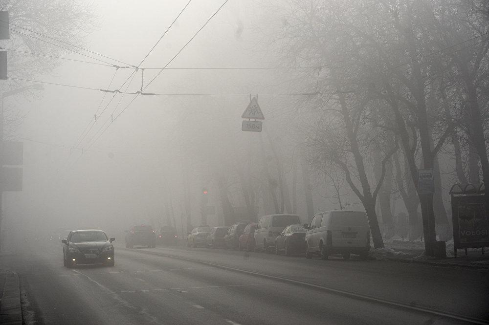 Сегодня Киев накроет густой туман, - КГГА
