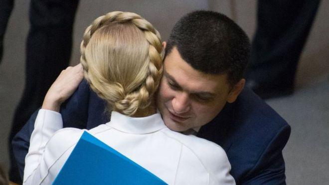 """Гройсман является частью """"организма"""" Порошенко, – Тимошенко"""