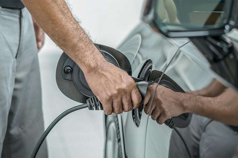 электромобили, зарядное устройство, зарядка, фотография