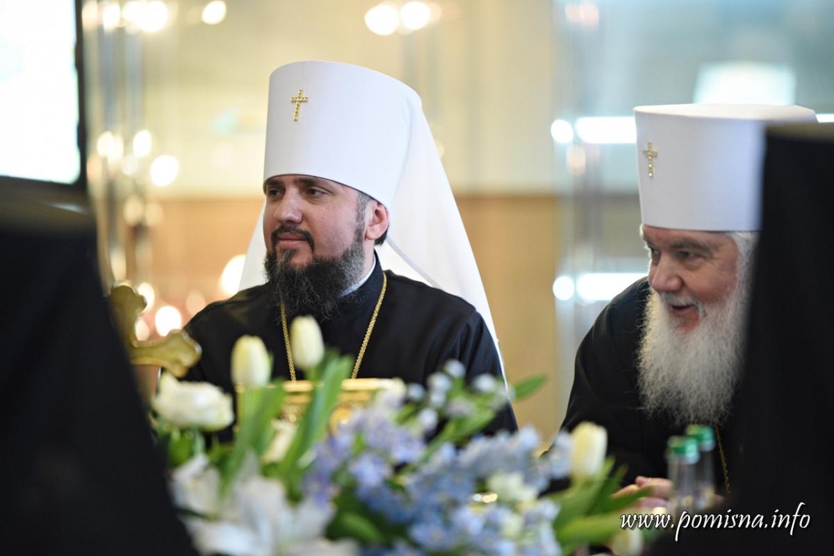 Епифаний утвердил состав Священного Синода Православной церкви Украины