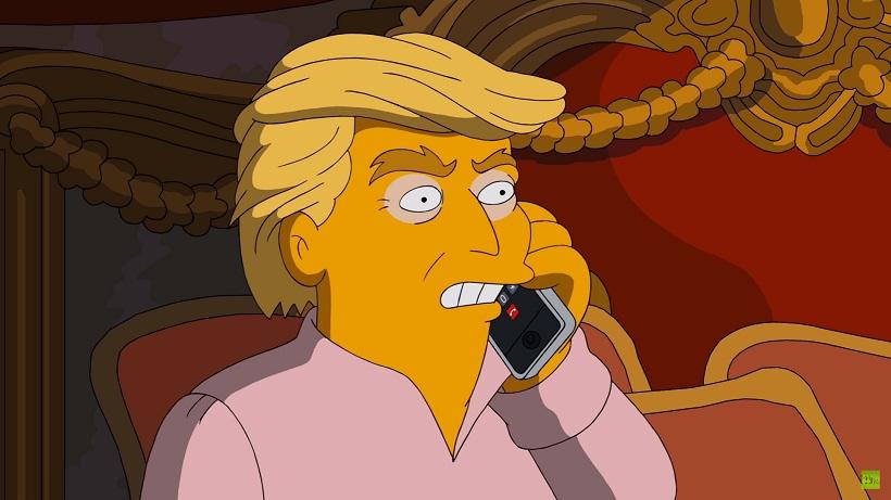 """""""Симпсоны"""" высмеяли Трампа и решили голосовать за Клинтон"""
