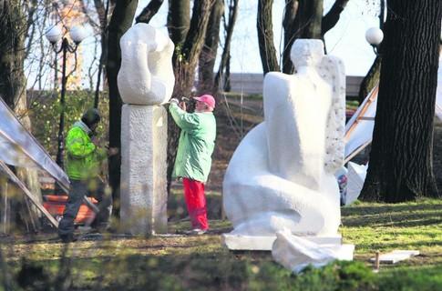 В Киеве в Мариинском парке откроют фонтан любви