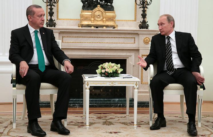 Эрдоган заявил о новой странице в отношениях с Россией