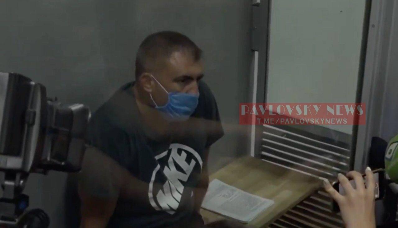 Возможный сообщник луцкого террориста вышел под залог
