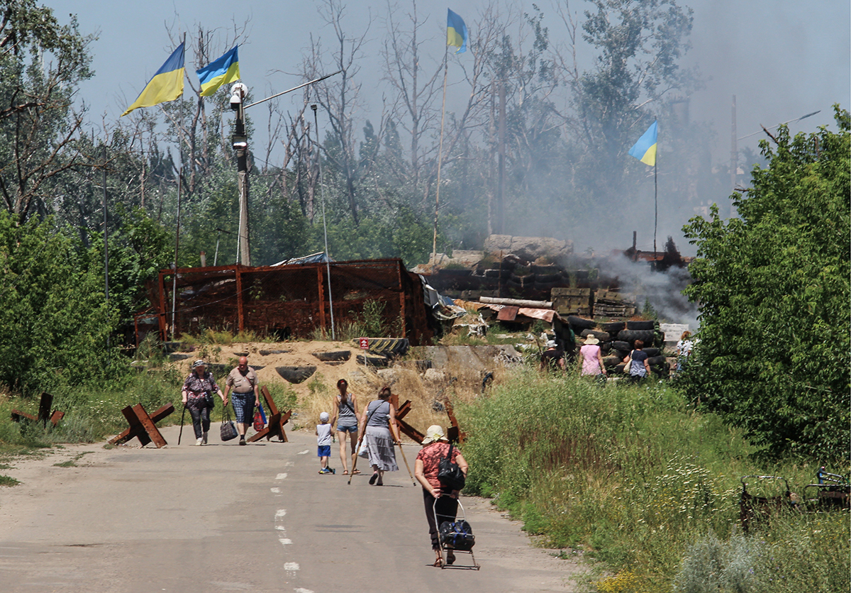 Отходной маневр. Что означает отвод сил и боевой техники на Донбассе
