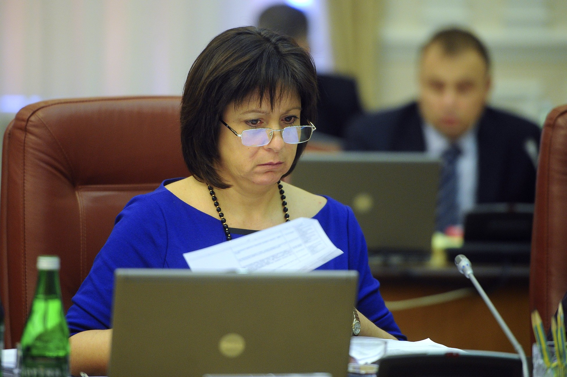 Яресько заработала почти 122 тысячи гривен в 2015 году