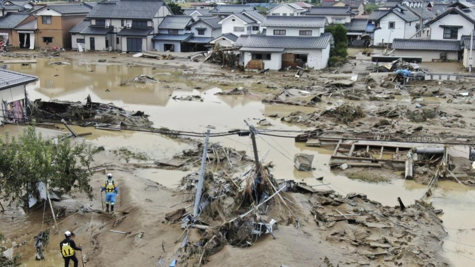 "Количество жертв тайфуна ""Хагибис"" в Японии увеличилось до 44"