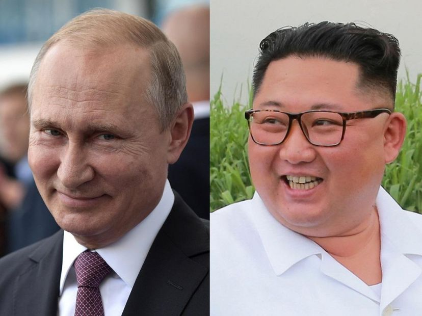 """Лидер КНДР подарил Путину корейский меч, который """"олицетворяет силу и ду..."""