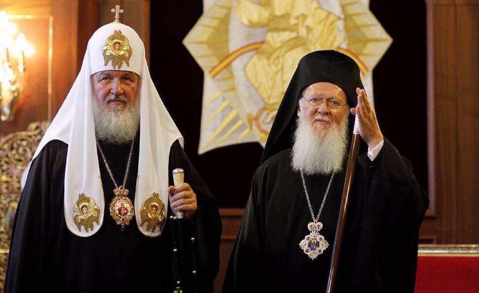 Патриарх Кирилл убеждал патриарха Варфоломея, что Украина и Россия одна...