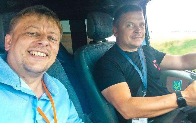 Задержанные в Беларуси волонтеры вернулись в Украину