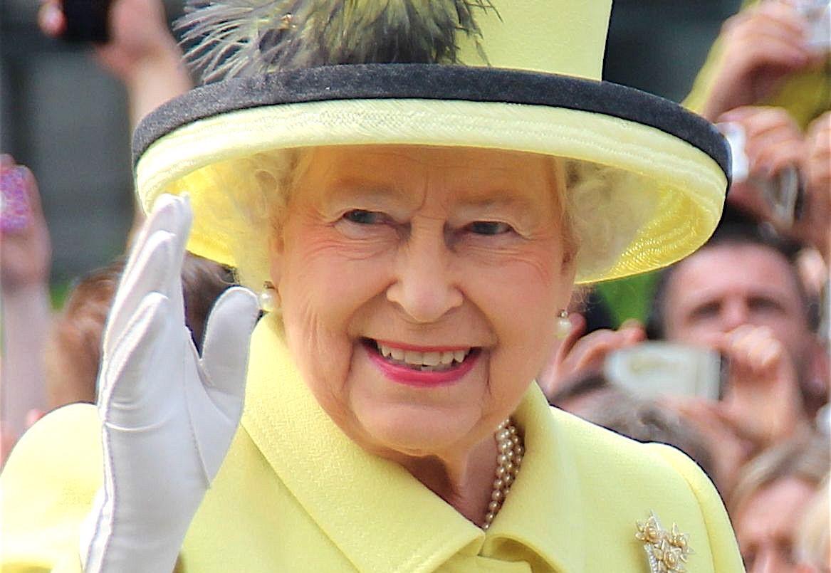 Королева Елизавета сделала комплимент свадьбе внучки