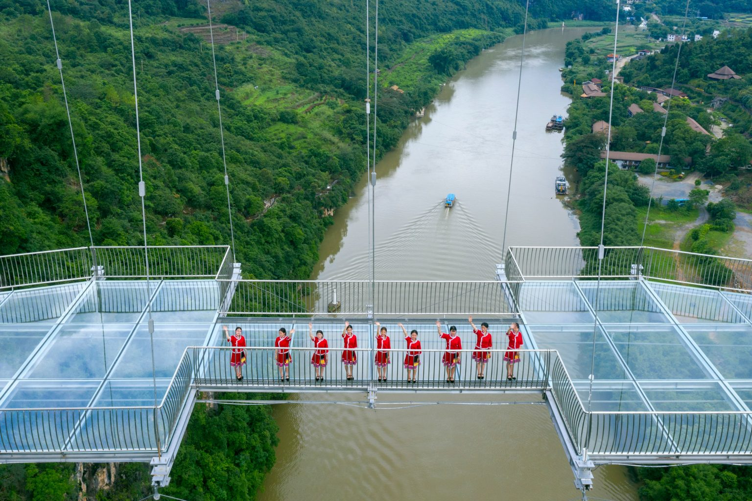 Китай, мост