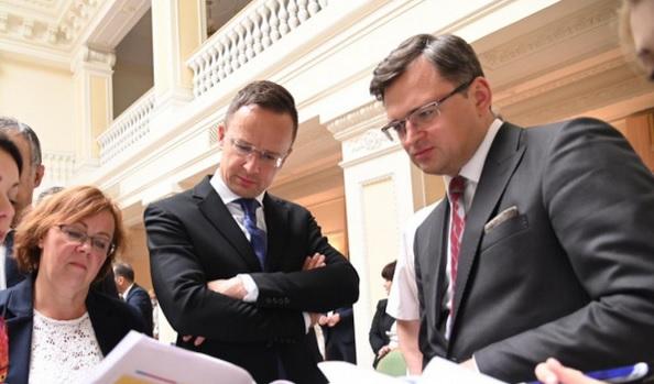 Украина и Венгрия провели первое за 7 лет заседание совместной экономиче...