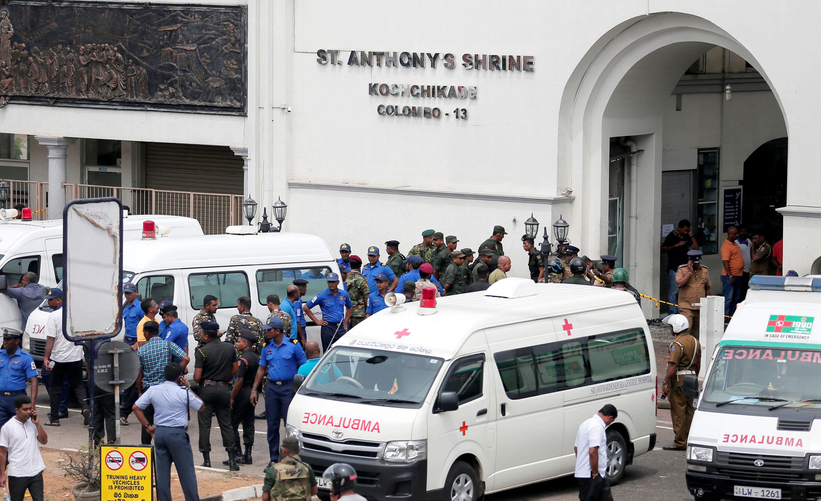 ИГИЛ взяло на себя ответственность за теракты на Шри-Ланке