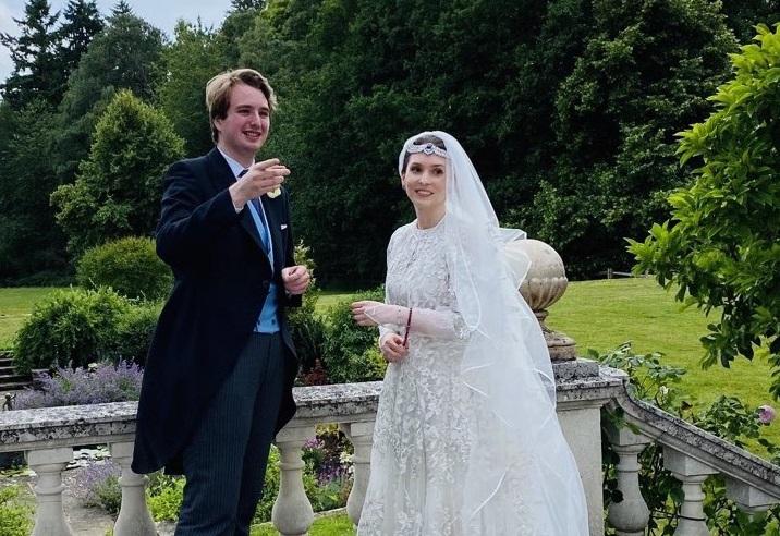 Иорданская принцесса сыграла социально-дистанцированную свадьбу в Велико...
