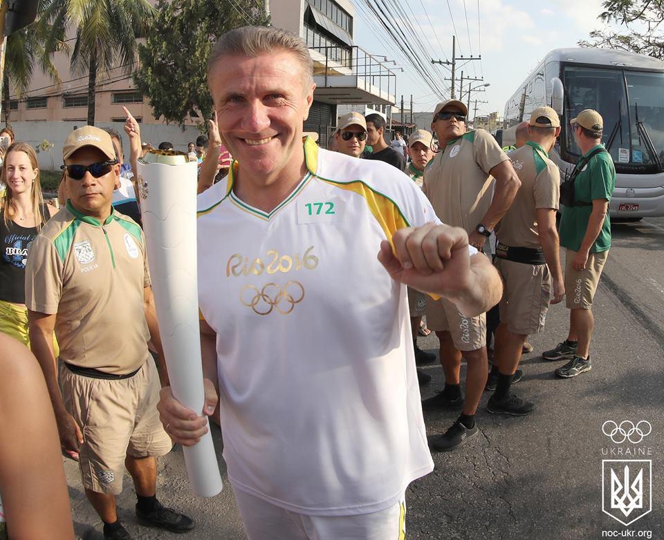 Накануне старта Олимпиады в Рио прошла эстафета олимпийского огня