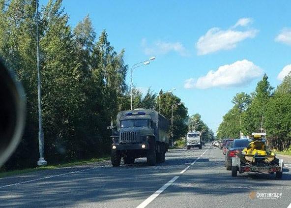 На границе РФ и Беларуси заметили автозаки с росгвардейцами, – СМИ