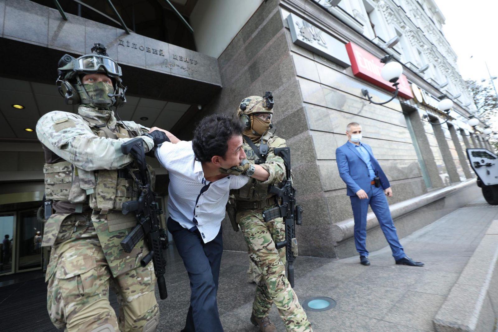 Киевскому террористу сообщили о подозрении в теракте