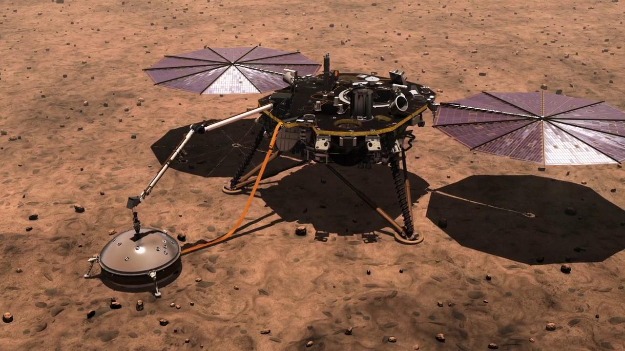 """Марс тряхнуло: на красной планете зафиксировали """"марсотрясение"""""""