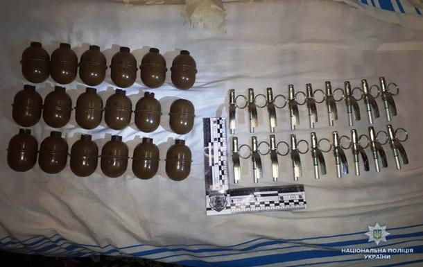 У жителя Винницы полиция нашла 18 гранат
